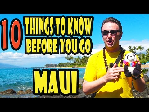 Maui Travel Tips: 10 Things to Know Before Go
