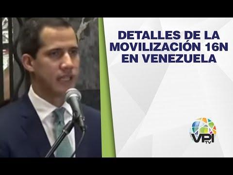 EN VIVO - Detalles De La Movilización 16N En Venezuela