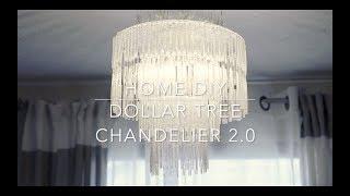 Dollar Tree Chandelier 2.0