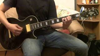 This is me playing along a great song by this Finnish glam rock ban...