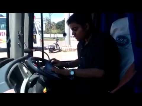 Volvo bus horn..