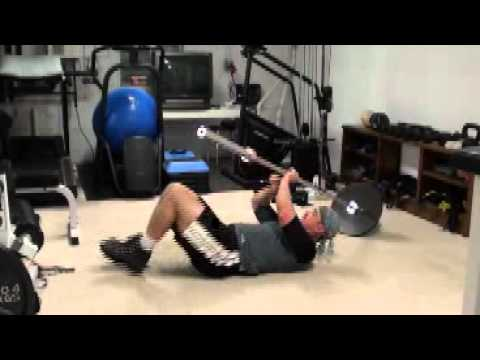 Chest Training And Bench Press Training At Homeone Side