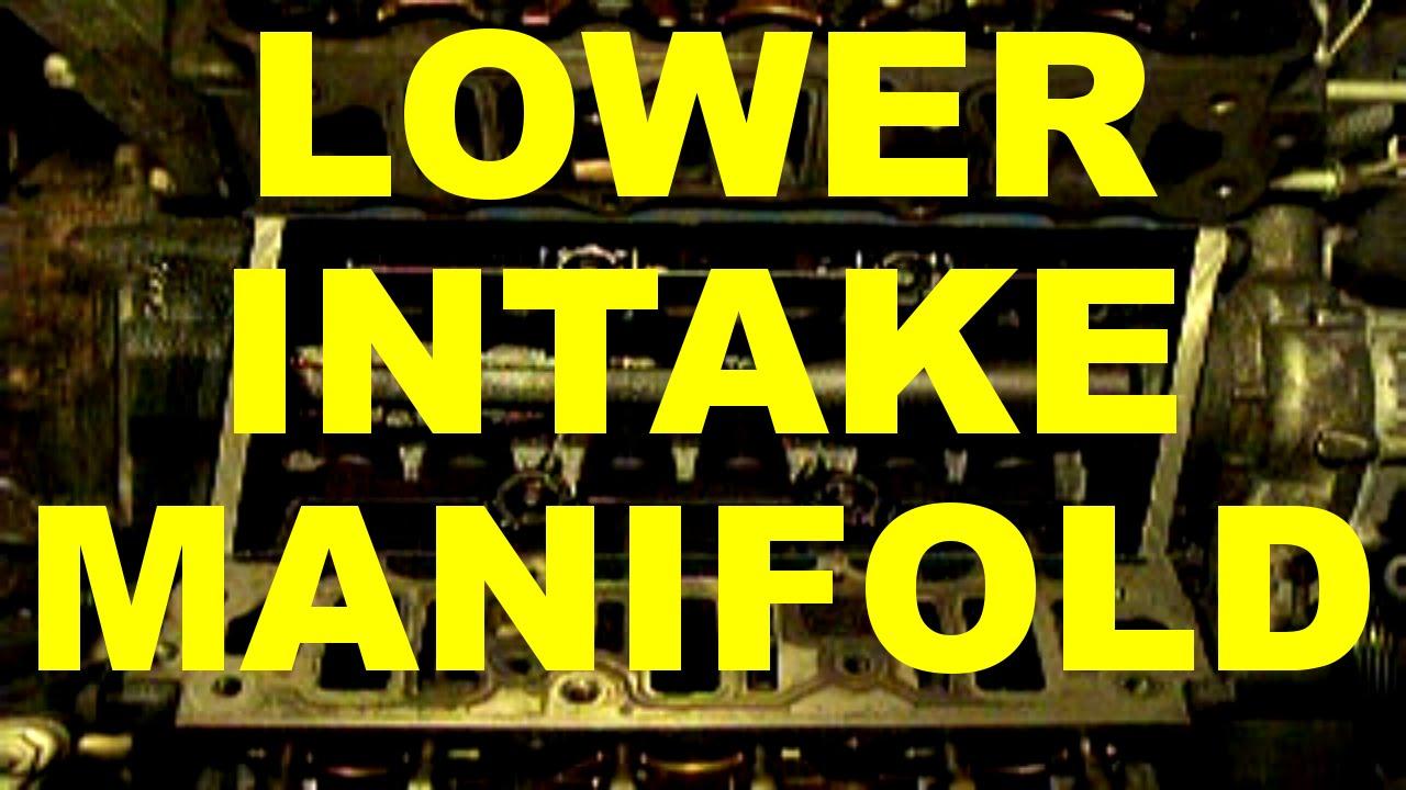 change lower intake manifold gasket replacement gm 3800 v6 engine 3 8 l v6 engine cars youtube [ 1280 x 720 Pixel ]