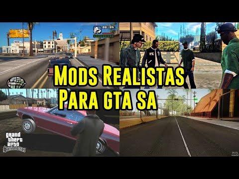 MODS REALISTAS PARA GTA SAN ANDREAS