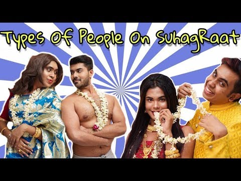 Types Of People On Suhag Raat | Ft. Monti Roy | Surjit Saha | Bengali Comedy Video By Sandy Saha |