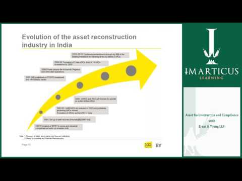 Asset Reconstruction and Compliance with EY LLP + Imarticus Learning