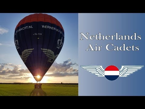 Netherlands Air Cadets - Hot air balloon Royal Netherlands Air Force