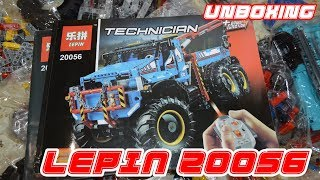 Lepin 20056 6x6 All Terrain Tow Truck Unboxing