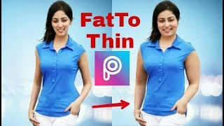 Funny Picsart Tutorial Fat  To Thin //