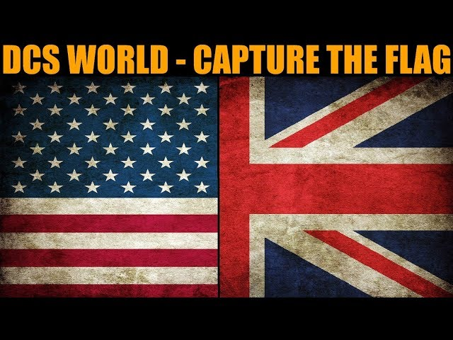 **CRAZY NEW GAME** Capture The Flag #1 | DCS WORLD