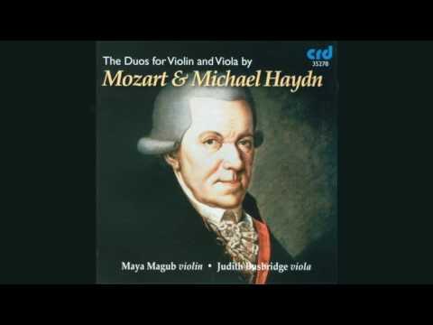Michael Haydn: Duo In F, P  129: II  Adagio - Maya Magub and Judith Busbridge