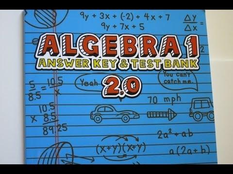 Ch 11 (Part 1): Teaching Textbooks Algebra 1 (v2.0) Chapter Test ...