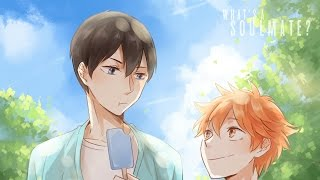what's a soulmate ; kagehina ⟨amv⟩