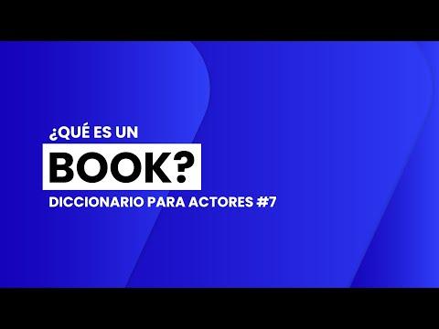 ¿Qué es un BOOK ACTORAL?   📖🎬 DICCIONARIO para ACTORES #7