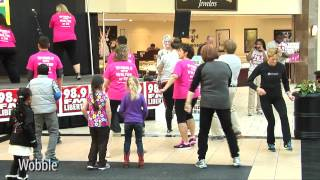Zg's wobblin' wobblettes performing line dances @ lifestyle expo 3/8/2014 (chesterfield town center)