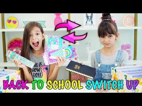 BACK TO SCHOOL SWITCH UP CHALLENGE!!!