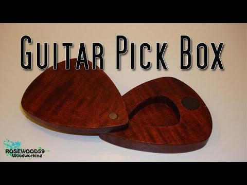 how to make a guitar pick box youtube. Black Bedroom Furniture Sets. Home Design Ideas