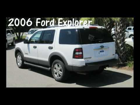 White 2006 Ford Explorer Advancetrac Rsc 3rd Row Seating