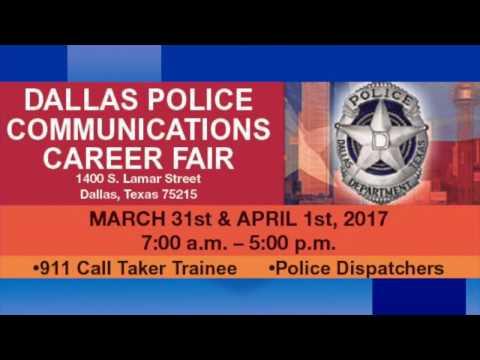 Dallas Police Communications Career Fair Video