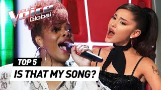 The best COACH SONG Blind Auditions on The Voice