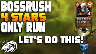 Boss Rush Only 4 Stars Except One 5 Star Whoops!   Marvel Contest of Champions