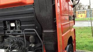 Truck sound Mercedes Actros 1855 V8 sound MP3