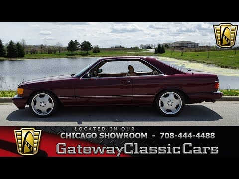 1986 Mercedes 560SEC - Gateway Classic Cars of Chicago
