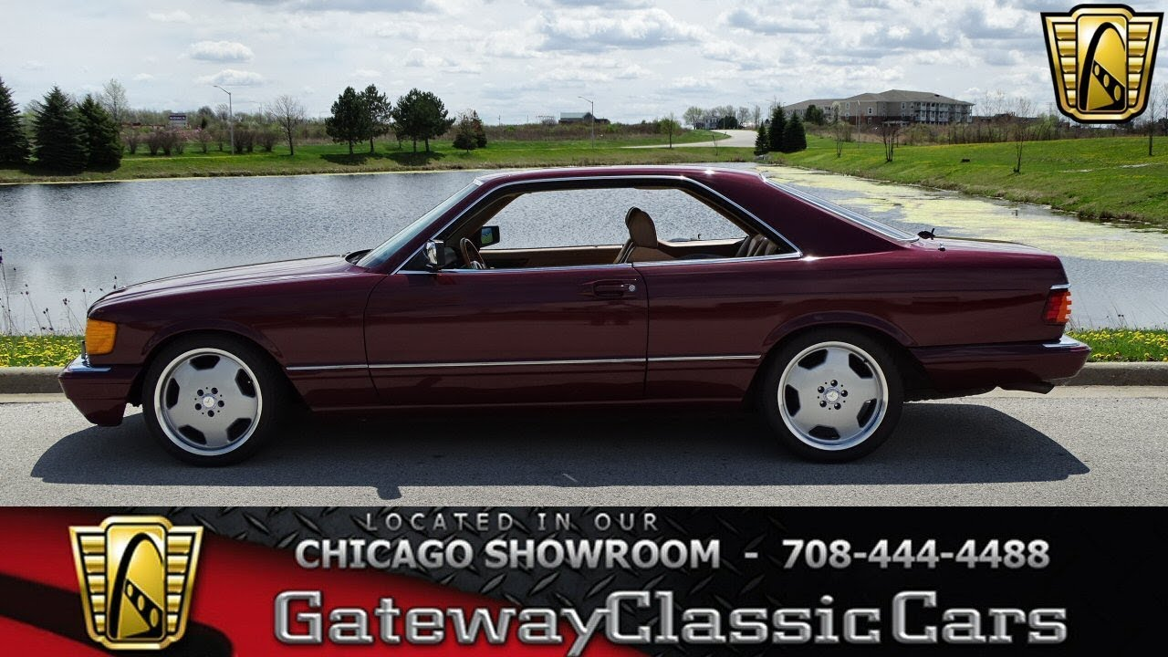 medium resolution of 1986 mercedes 560sec gateway classic cars of chicago