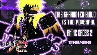 THIS CUSTOM CHARACTER IS BROKEN! | ASTA+BROLY+GOKU+DIO | ANIME CROSS 2 | ROBLOX