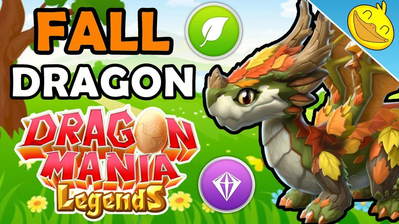 Dragon Legends: How To Breed The FALL DRAGON! 4 BEST Breeding Combinations
