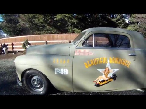 Chopped Top 1949 Plymouth Business Coupe The P 49 Coupe