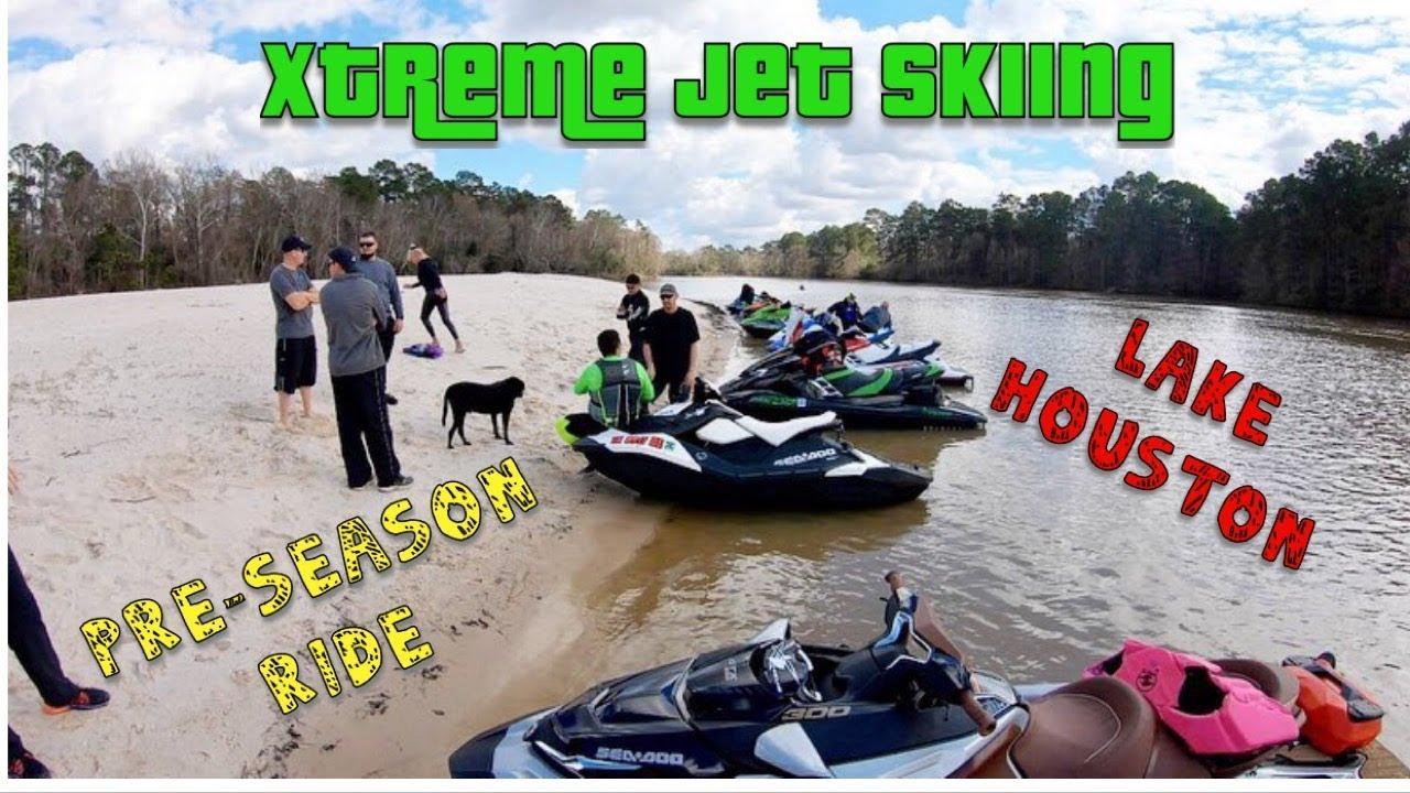 Xtreme Jet Skiing || Pre-Season Lake Houston Ride || SEADOO