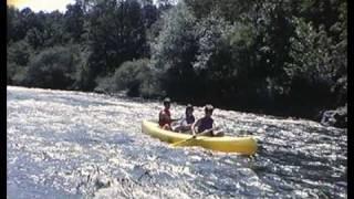 Descente en canoë sur l'Allier