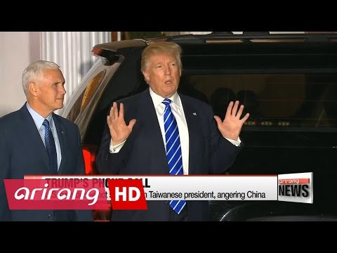 Trump speaks with Taiwanese president, angering China
