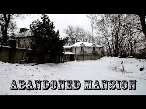 Abandoned MILLIONAIRE'S Mansion in the woods