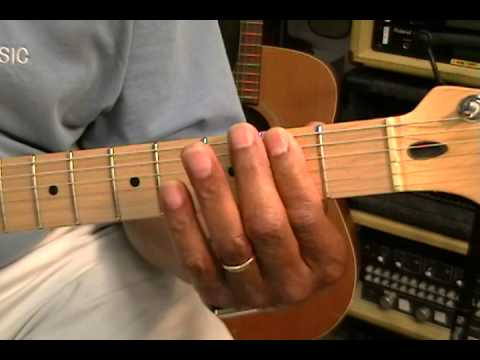 How To Play Peter Gunn Theme Duane Eddy (minor) Henry Mancini (major) On Guitar Lesson