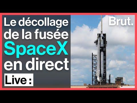 Suivez En Direct Le Décollage Du Premier Vol Habité De SpaceX Vers L'ISS