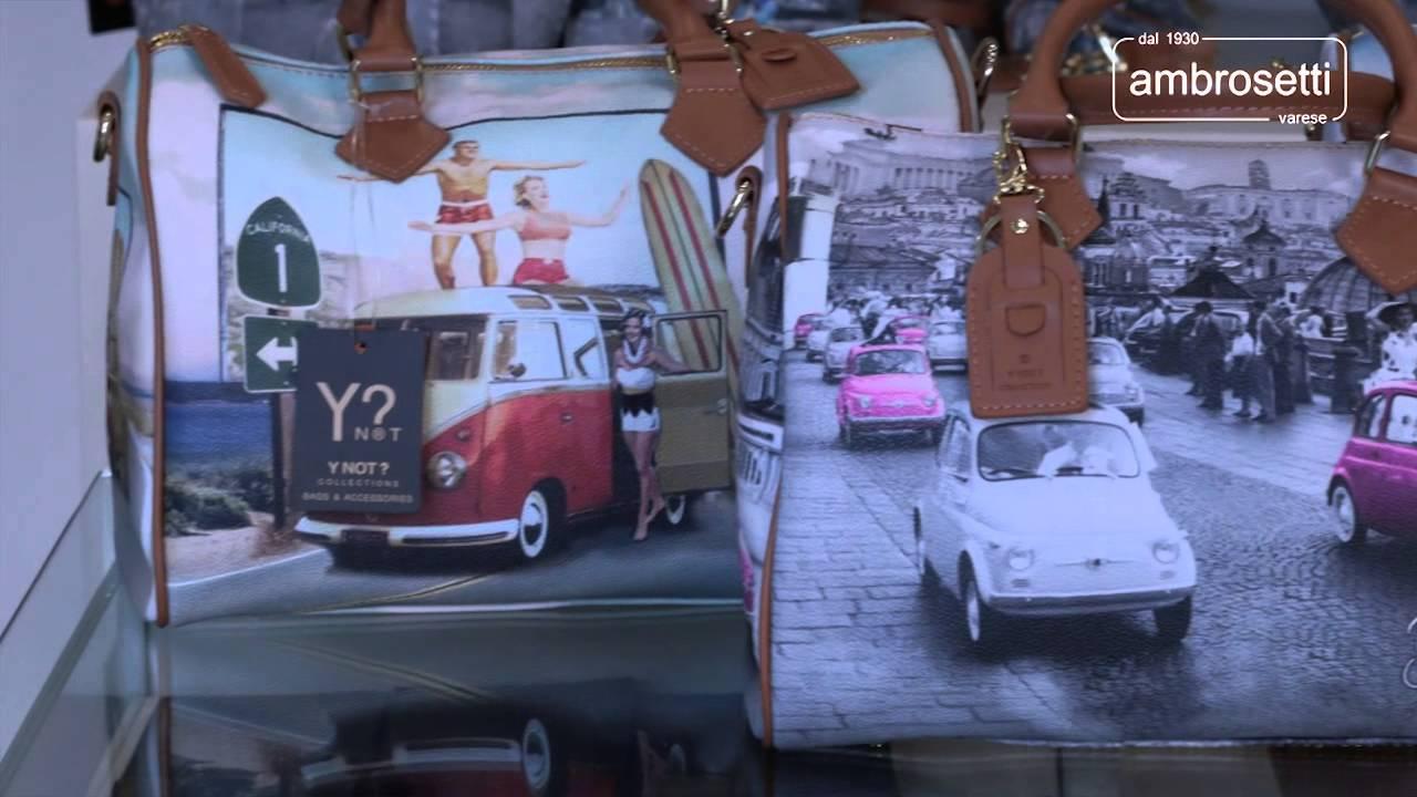 Video Borse Ynot Collezione Primavera Estate 2014 - YouTube 773b0d18dd1