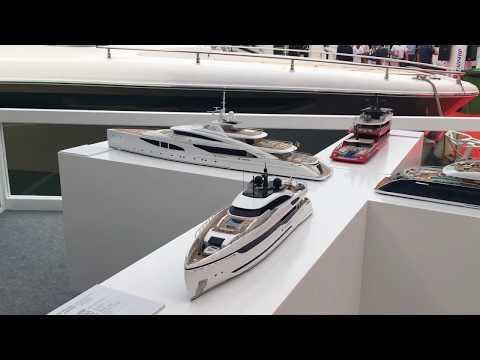 ISA Mega yacht scale models
