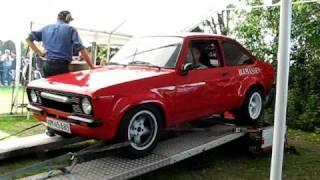 Ford Escort Engine blows on dyno