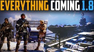 The Division | Everything Coming Patch 1.8 | Rogue 2.0, Map Expansion & 4v4 PvP
