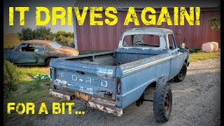Abandoned F250 Revival! First Start in 26 Years -- Part 7