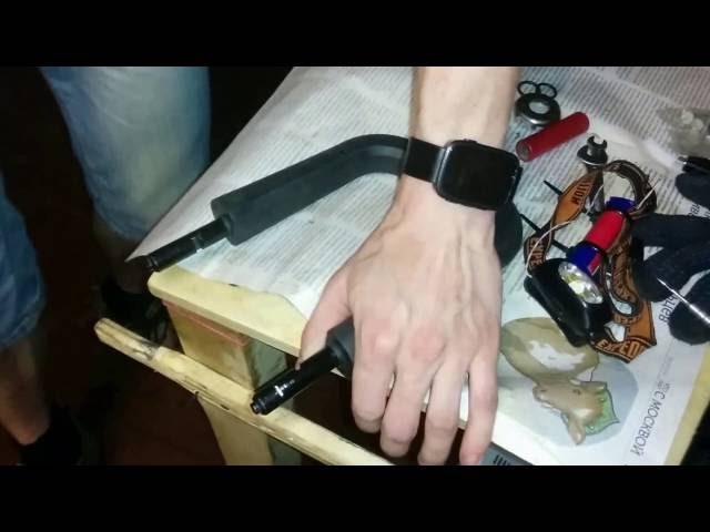 Decatlon B`twin U-lock 700 hacksaw try (???????)