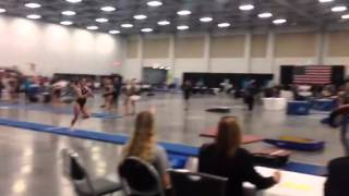 Cali Harden, Gym America | L9 Vault 2016 Eastern National Championships