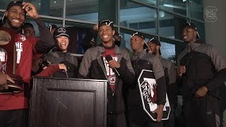 Gamecock Men's Basketball Welcome Back Ceremony — 3/26/17