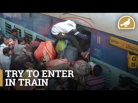 Huge Rush at Secunderabad Railway Station | Sankranti Festival