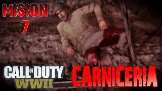 CALL OF DUTY: WW2   MISION 7: CARNICERIA [Gameplay en Español 1080p 60fps]