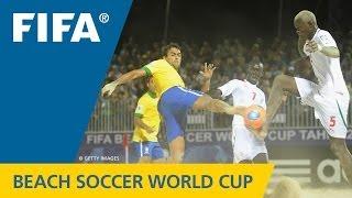 Awesome Brazil, Bruno Xavier batter Senegal