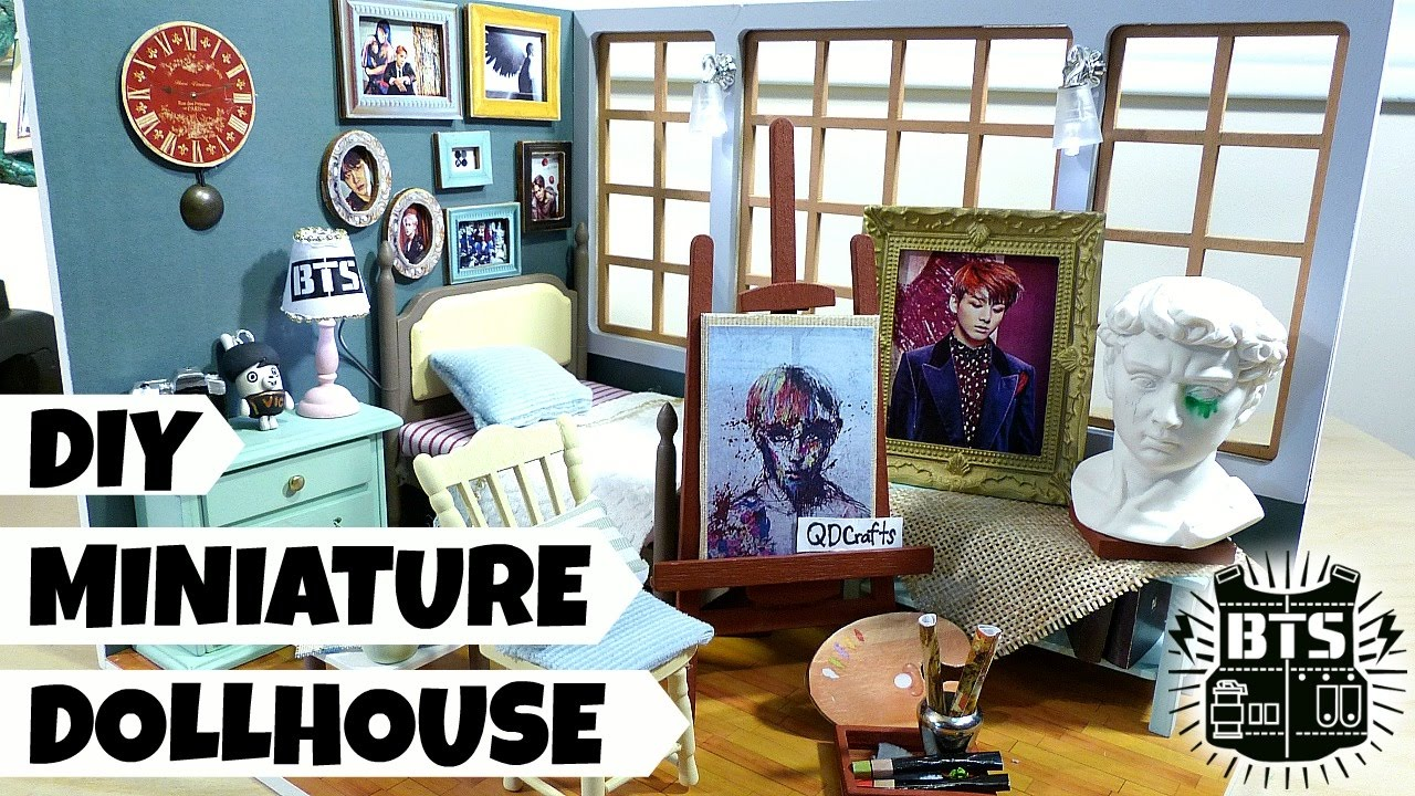 DIY Miniature Dollhouse Blood Sweat Amp Tears Theme YouTube