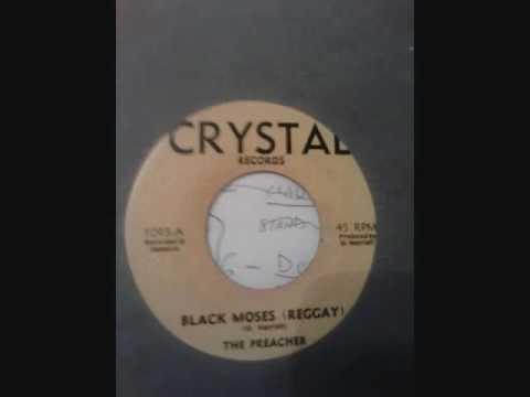 THE PREACHER - BLACK MOSES (REGGAY). FUNK - REGGAE - SOUL